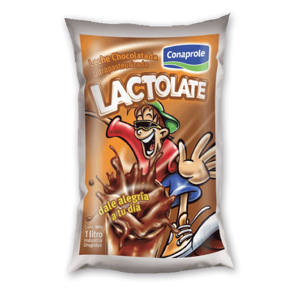 Leche chocolatada Lactolate
