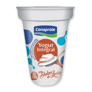 Yogur Integral con Dulce de Leche