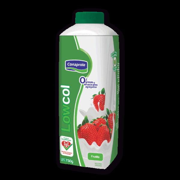 Yogur Lowcol Frutilla 750g
