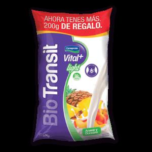 Yogur Biotransit Vital+ Anana y Durazno 1.2kg