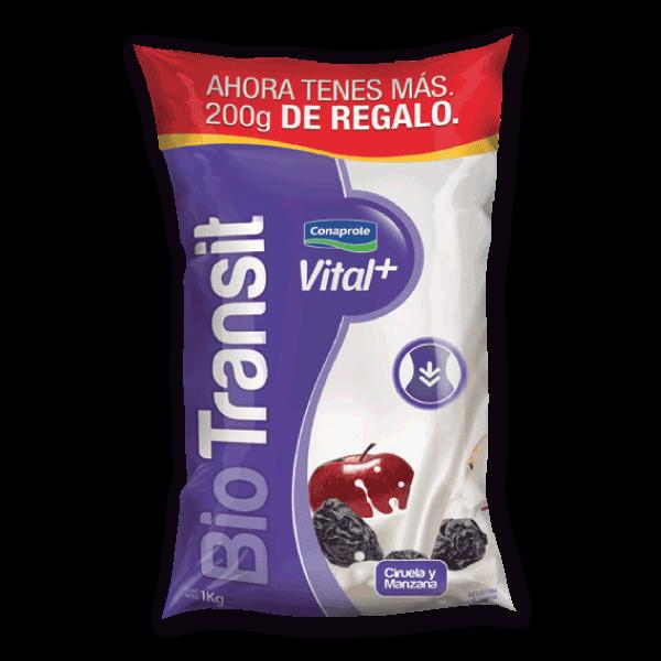 Yogur Biotransit Vital+ Manzana y Ciruela 1.2kg