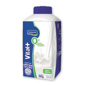 Yogur Vital+ 0% Natural 500g