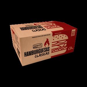 Hamburguesa Clásica Caja