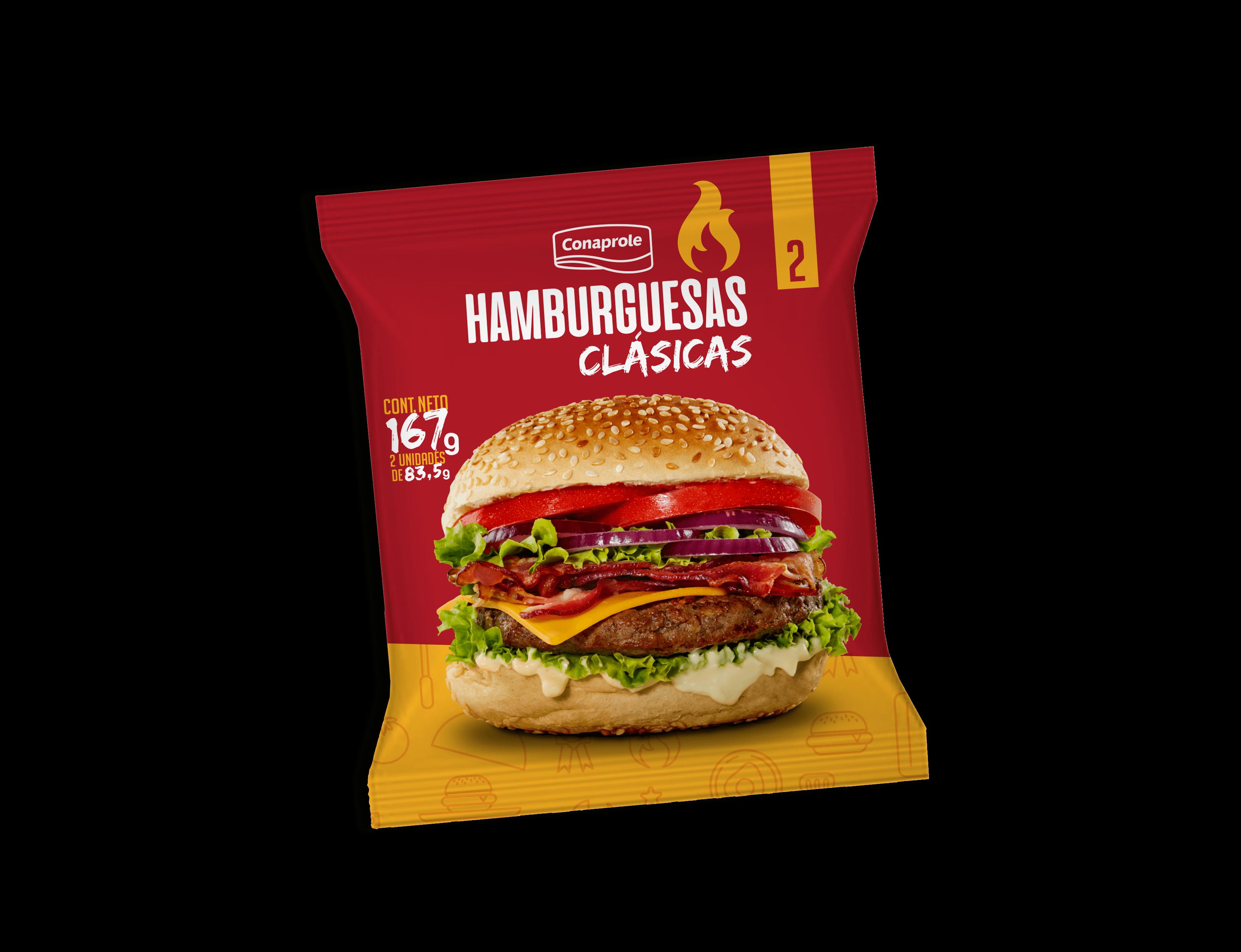 Hamburguesa Clásica Unidad